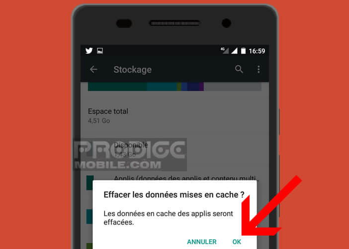 Supprimer les données pour rendre votre mobile plus rapide