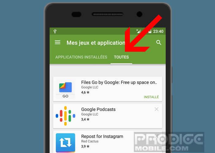 Découvrez l'application susceptible d'afficher des publicités sur votre smartphone