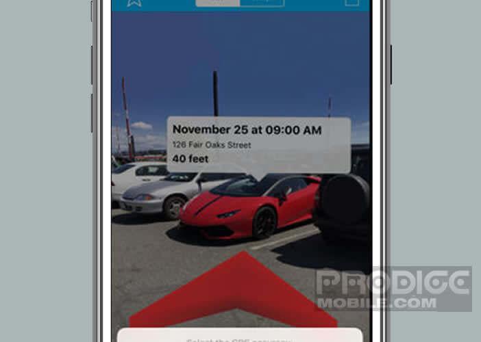 L'appli Find Your Car retrouve votre véhicule grâce à la caméra de votre iPhone