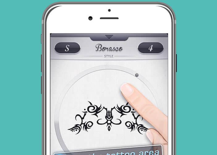 Application Instattoo spécialisée dans la création de tatouages dits tribal
