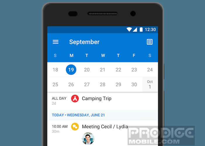 Exporter l'agenda de Google vers le logiciel Microsoft Outlook