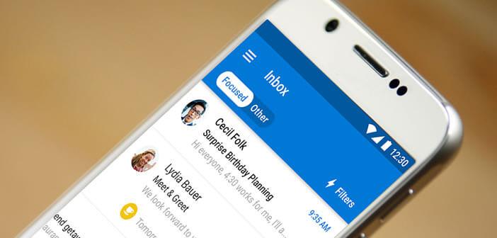 Ajouter une adresse mail Outlook à la messagerie d'un mobile Android