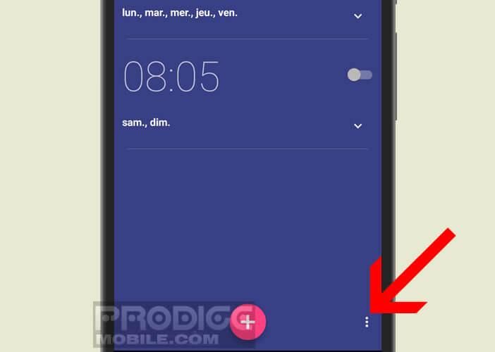 Personnaliser le réveil installé par défaut sur votre téléphone Android