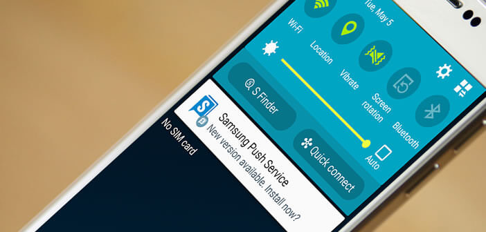 Désinstaller Samsung push service d'un smartphone Android