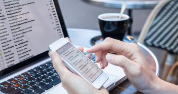 Eliminer tous les courriers électroniques indésirables sur un iPhone en quelques clics