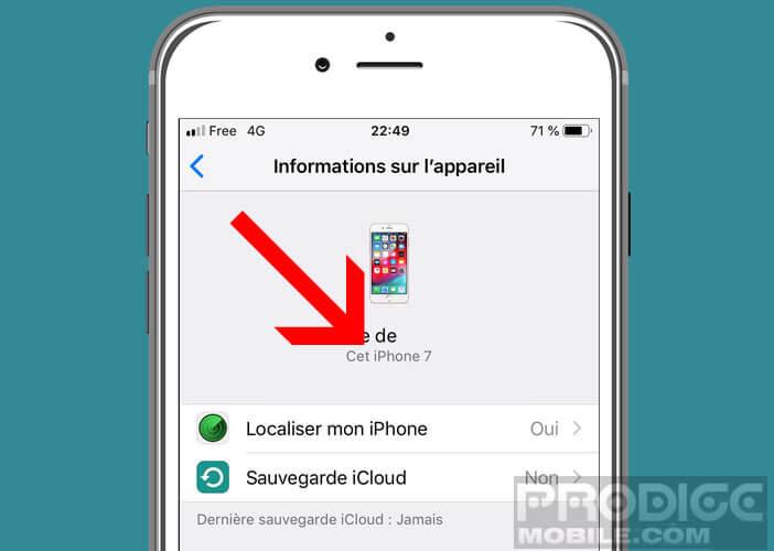 Identifier la génération du smartphone Apple que vous possédez