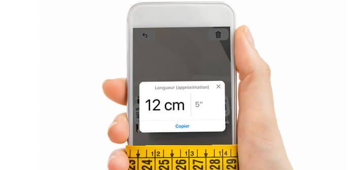 Apprenez à vous servir de l'application Mesure pour l'iPhone