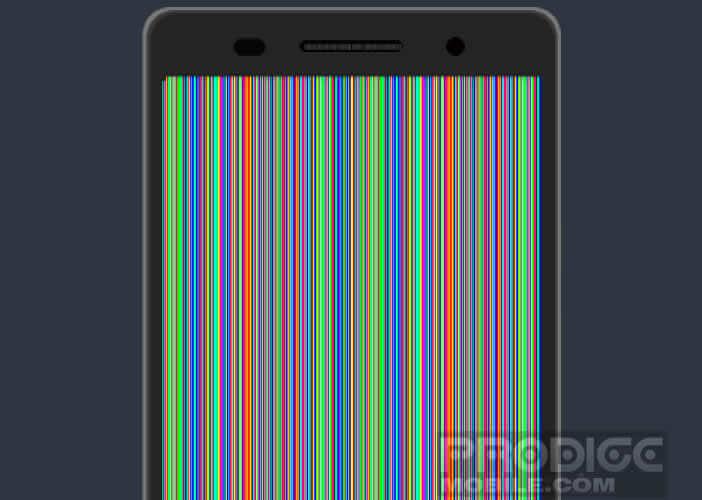 Application de traitement de pixels morts pour Android