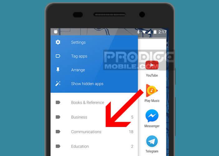 Classer vos applications automatiquement par catégorie avec App Swap