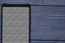 Réparer un pixel défectueux sur l'écran d'un smartphone Android