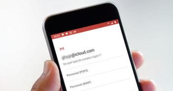 Ajouter un compte iCloud sur un terminal Android