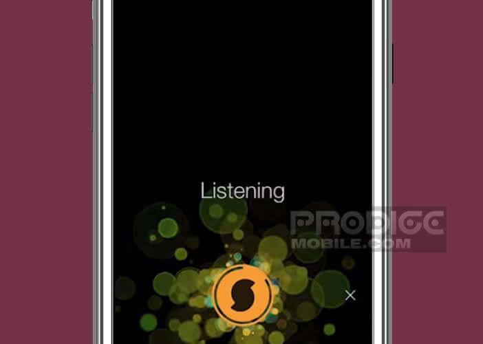 Envoyer un échantillon musical de votre chanson sur les serveurs de SoundHound