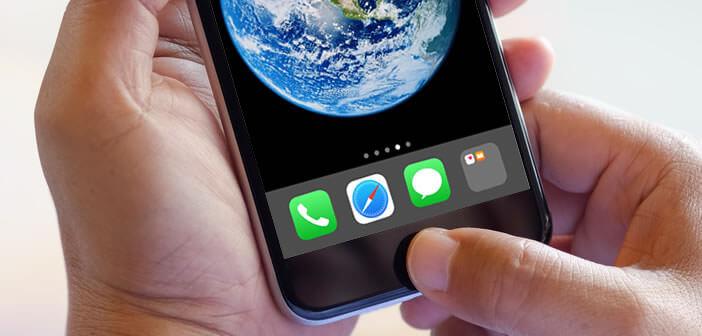 Ajouter un dossier d'applications dans le dock de l'iPhone