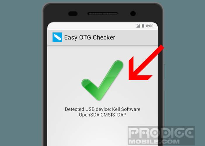 Tester la compatibilité OTG du port micro USB d'un smartphone Android