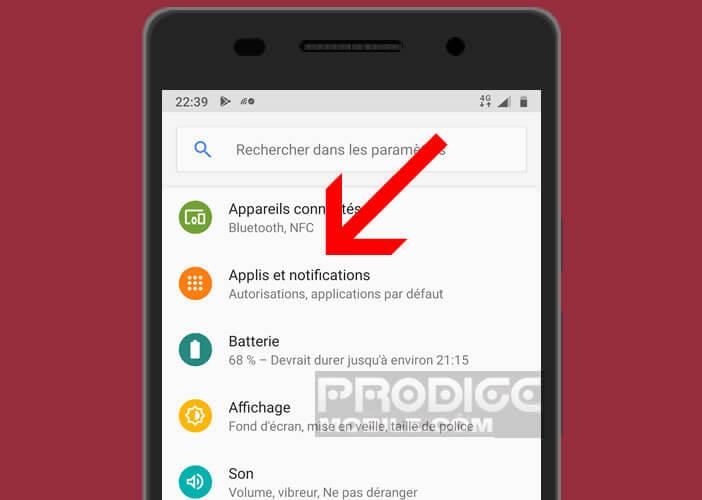 Retirer les services Google du tiroir d'applications de votre smartphone