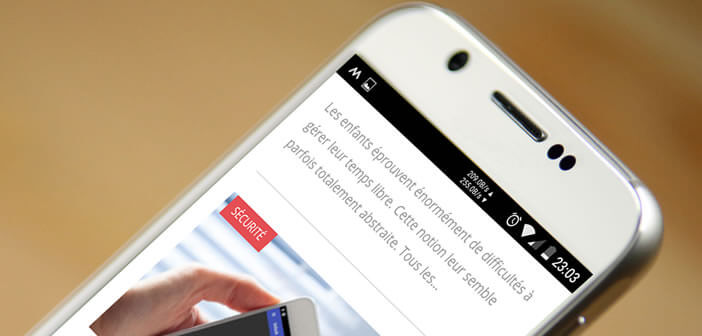Afficher dans la barre d'état la vitesse de connexion upload et download de votre mobile