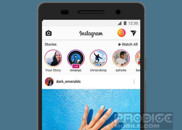 Changer la présentation de votre biographie sur Instagram