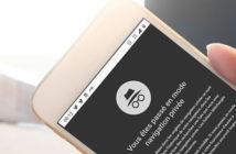 Activer le mode de navigation privée sur votre smartphone Android