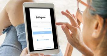 Installer l'application Instagram sur une tablette iPad