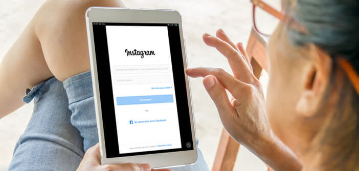 Installer l'application Instagram sur une tablette iPad