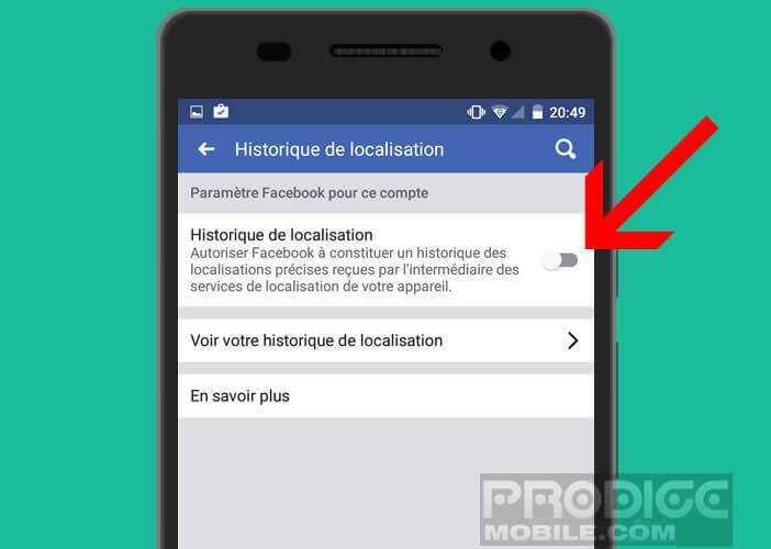 Déjouer les hackers grâce à l'historique de localisation de Facebook