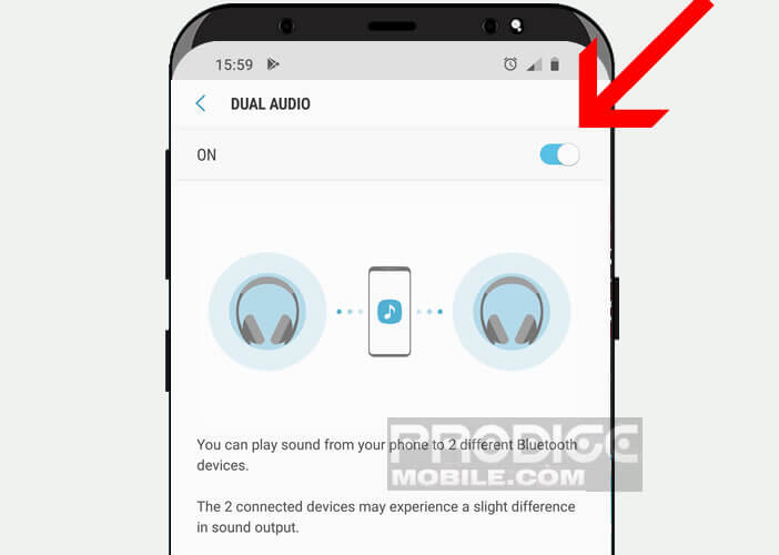 android deux casques bluetooth