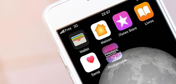 Créer un raccourci web sur l'écran d'accueil de l'iPhone