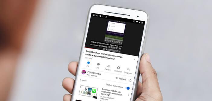 Activer l'affichage des sous-titres dans une vidéo YouTube