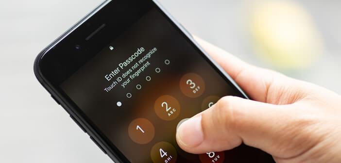Désactiver le déverrouillage de l'iPhone par Face ID et Touch ID