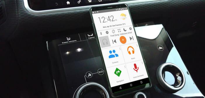 Dashdroid, application de conduite pour smartphone Android