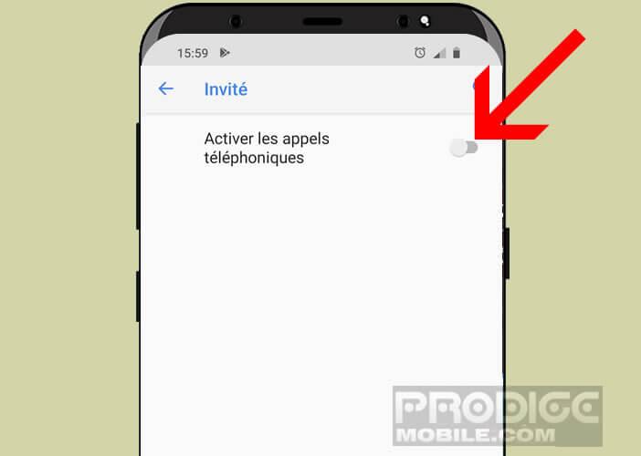 Changer de profil depuis l'écran de verrouillage de votre téléphone