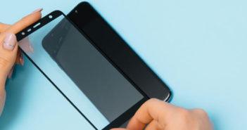 Film de protection pour l'écran du smartphone