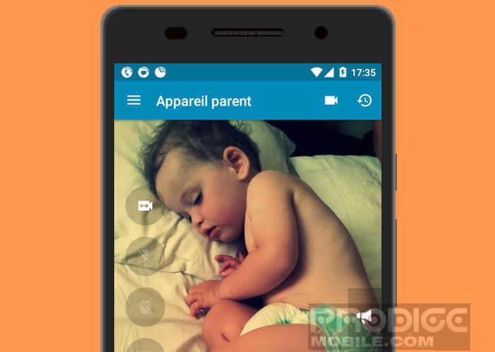 Mettre en place un babyphone depuis un vieil smartphone Android