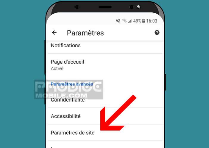 Améliorer la confidentialité des données dans le navigateur Google Chrome