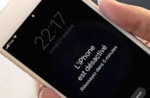 iPhone désactivé ? Comment réparer cette erreur