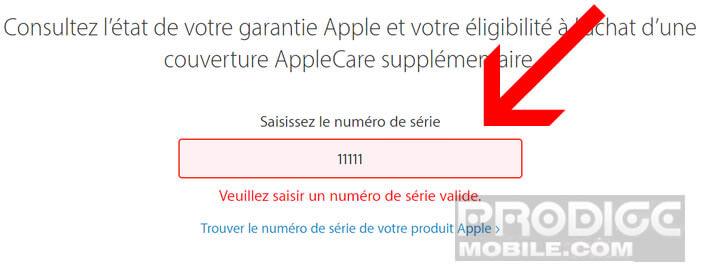 Contrôler le numéro IMEI pour vous assurer que votre iPhone est un vrai Apple