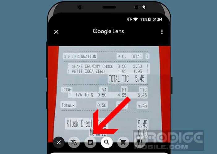 Activer l'option de reconnaissance de caractères sur Google Photos