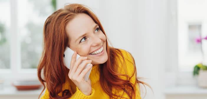 Recevoir et émettre des appels depuis une connexion internet Wi-Fi