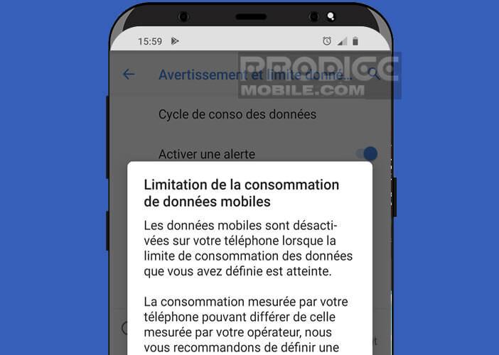 Bloquer automatiquement la connexion mobile 4G ou 5G de son mobile
