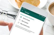 Empêcher des contacts de vous ajouter à des groupes WhatsApp