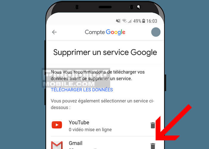 Gérer tous vos services Google depuis votre smartphone