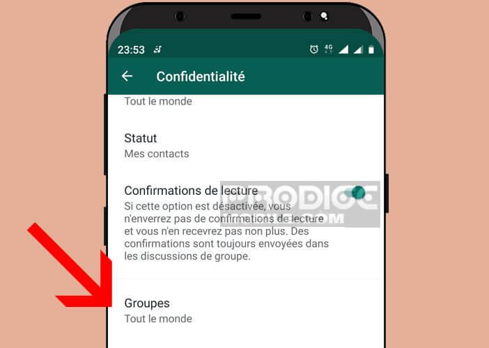 Configurer le système d'invitation aux groupes WhatsApp