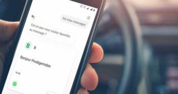 Faire lire ses messages WhatsApp à voix haute par son mobile Android