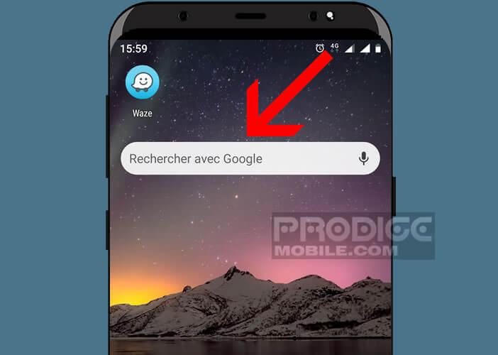 Ouvrir un site depuis le bureau d'Android sans lancer Google Chrome