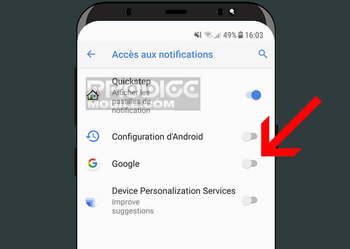 Permettre à Google de prendre en charge les messageries instantanées comme WhatsApp
