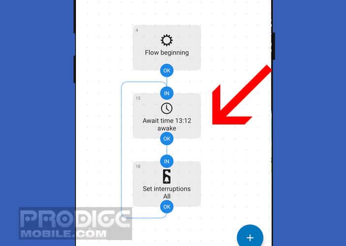 Activation automatique de la fonction Ne pas déranger sur un mobile Android