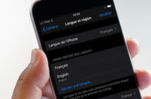iPhone : changer la langue d'une application