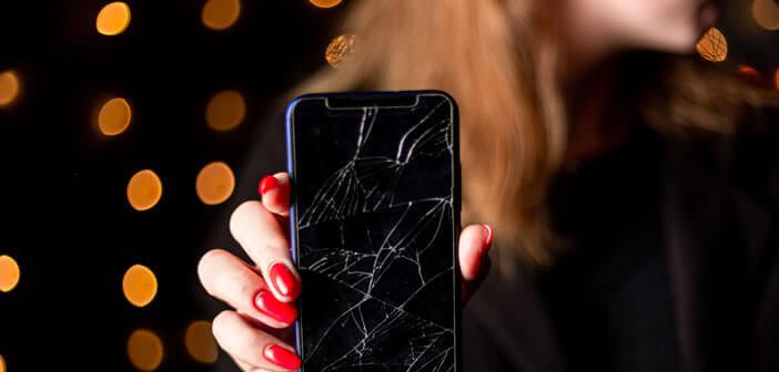 Prix d'une réparation sur un écran d'iPhone cassé ou fissuré