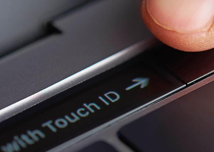 Utiliser le bouton tactile Touch ID pour résoudre les problèmes de plantage sous macOS