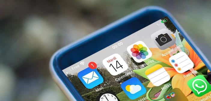 Désactiver l'affichage des badges pour l'application mail de l'iPhone